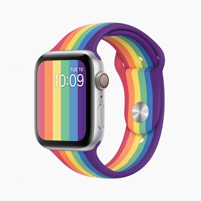 Apple Watch プライドエディションバンド