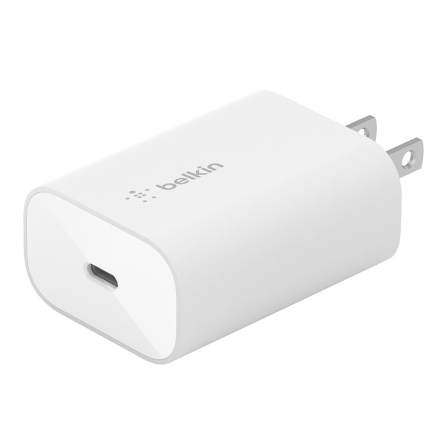 Belkin BOOST↑CHARGE USB-C PD 3.0 PPSウォールチャージャー25W